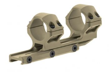 Leapers UTG 30mm Medium 34mm Offset Picatinny Scope Ring FDE Cerakote AIR31834D